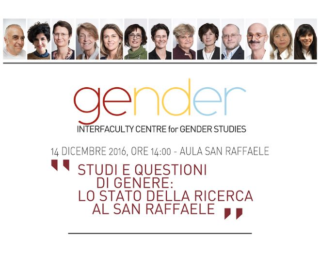 UNISR INAUGURA L'INTERFACULTY CENTRE FOR GENDER STUDIES