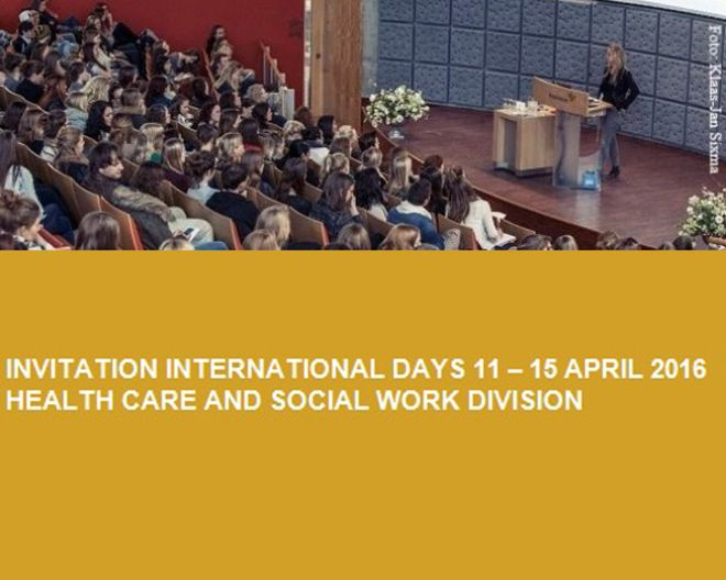 International Days 2016 – Health Care and Social Workers