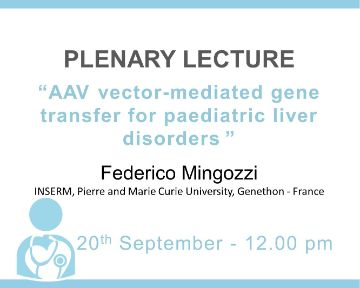 Plenary Lecture: AAV vector-mediated gene transfer for paediatric liver