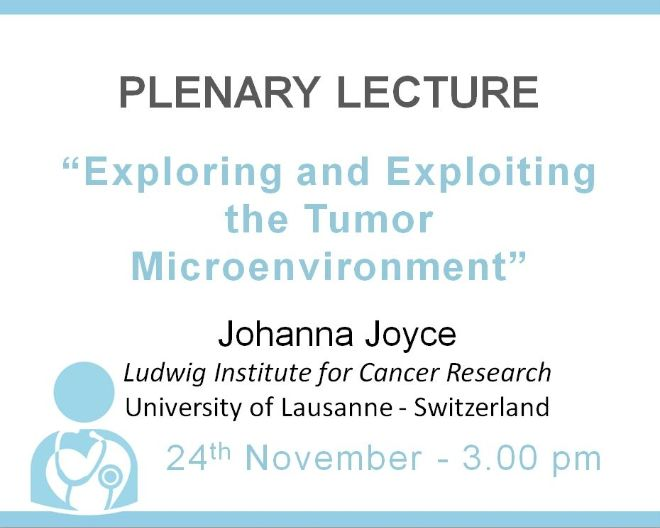 "Plenary Lecture: ""Exploring and Exploiting the Tumor Microenvironment"""