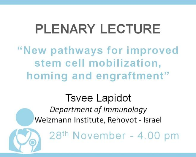 Plenary Lecture: new pathways for improved stem cell mobilization, homing and engraftment