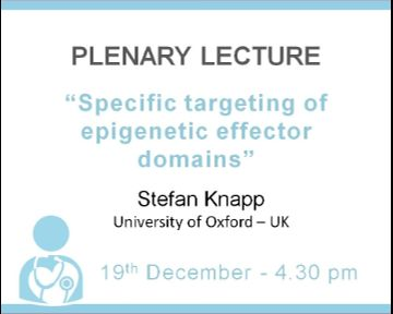"Plenary Lecture: ""Specific targeting of epigenetic effector domains"""