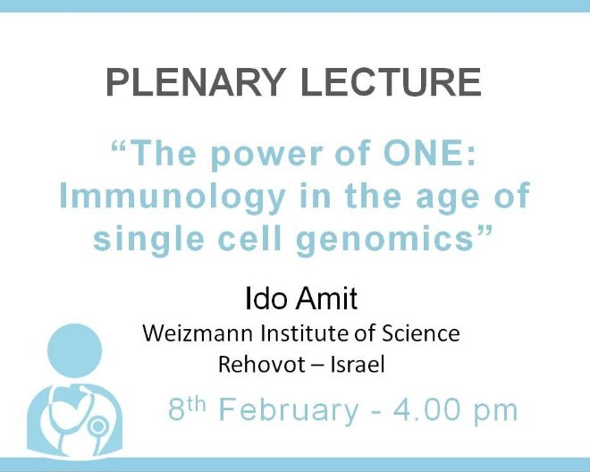 Plenary lecture: The power of ONE: Immunology