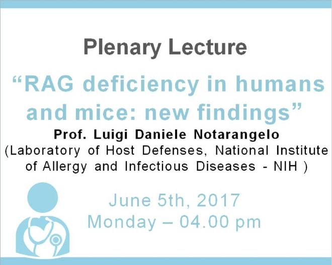 Plenary Lecture: RAG deficiency in humans and mice: new findings