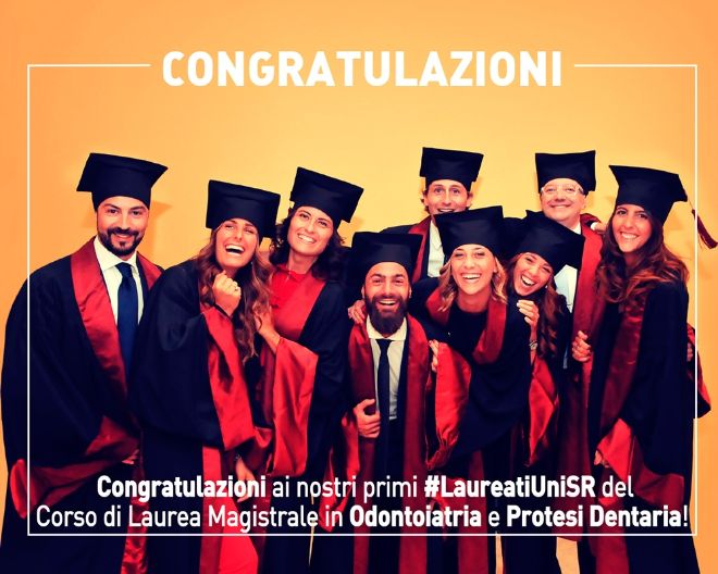 I nostri primi Laureati della Dental School
