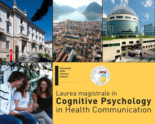 Application for the Master's degree in Cognitive Psychology in Health Communication are now reopened