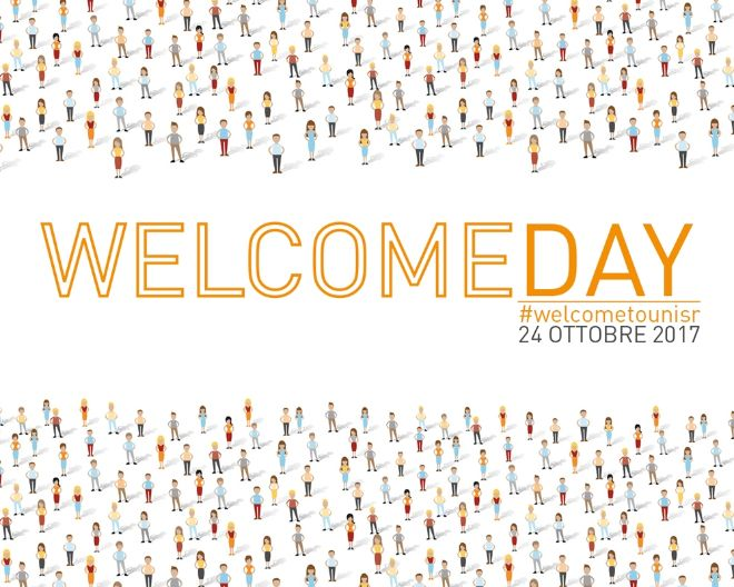 24 ottobre: WelcomeDay 2017 !