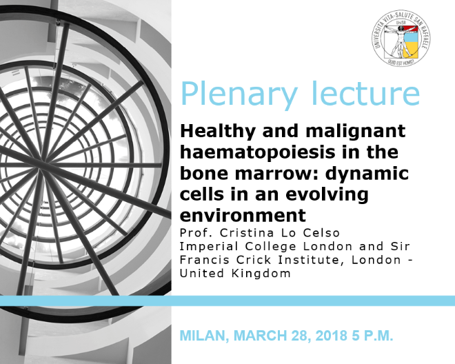 "Plenary Lecture: ""Healthy and malignant haematopoiesis in the bone marrow: dynamic cells in an evolving environment"""
