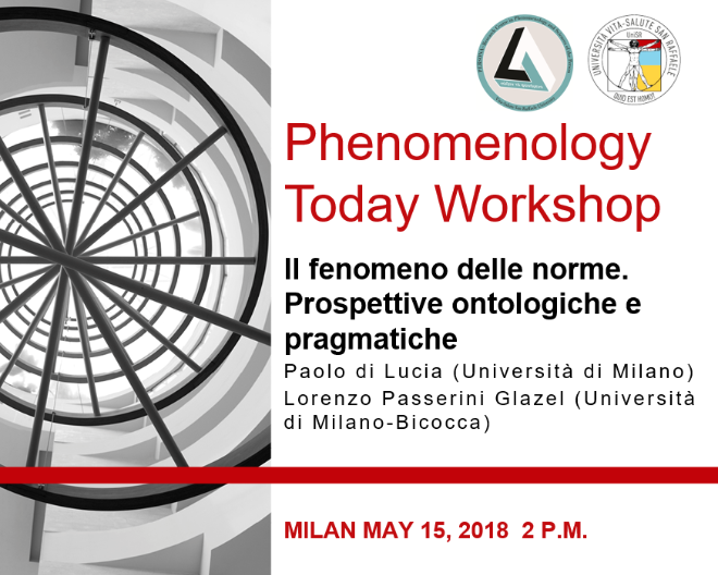 Phenomenology Today Workshop
