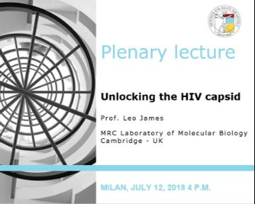 "Plenary Lecture: ""Unlocking the HIV capsid"""