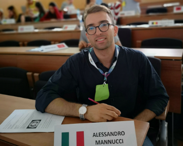 Alessandro Mannucci, studente MD Program UniSR, selezionato per l'ESMO-ESO Course on Medical Oncology for Medical Students