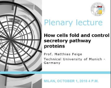 "Plenary Lecture: ""How cells fold and control secretory pathway proteins"""