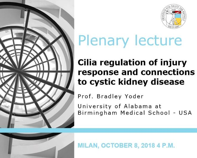 "Plenary Lecture: ""Cilia regulation of injury response and connections to cystic kidney disease"""