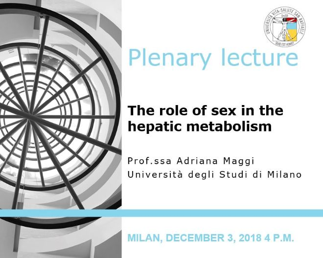 "Plenary Lecture: ""The role of sex in the hepatic metabolism"""