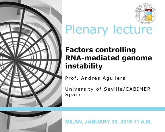 "Plenary Lecture: ""Factors controlling RNA-mediated genome instability"""