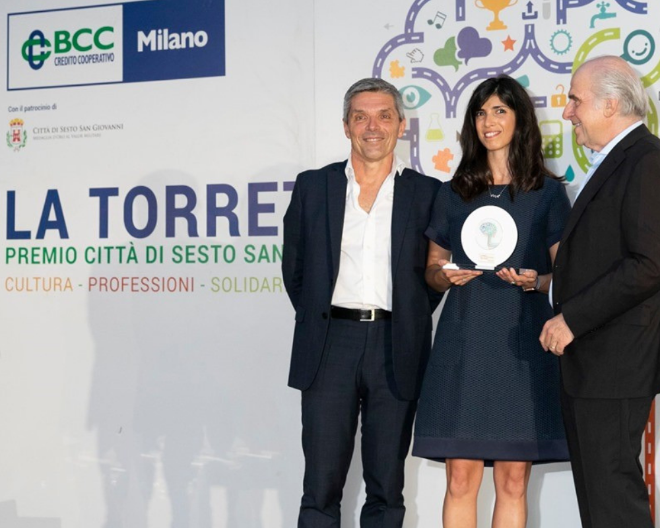 Dr. Elena Criscuolo, best young Italian virologist, wins