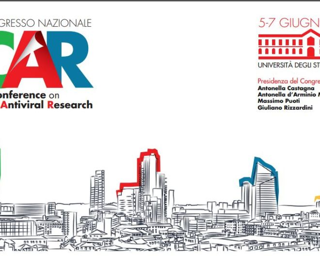 5-7 June will be held ICAR, the Italian Conference on AIDS and Antiviral Research