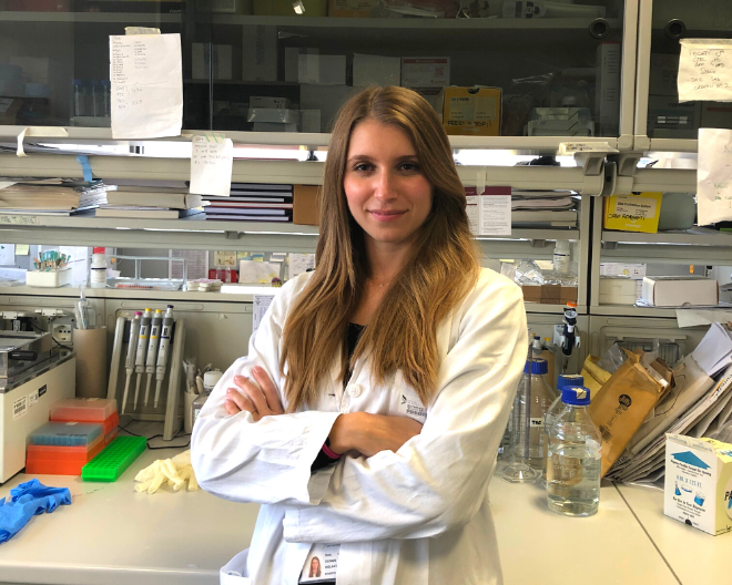 Violante Olivari, PhD student, vince l'EHA Best Abstract Award